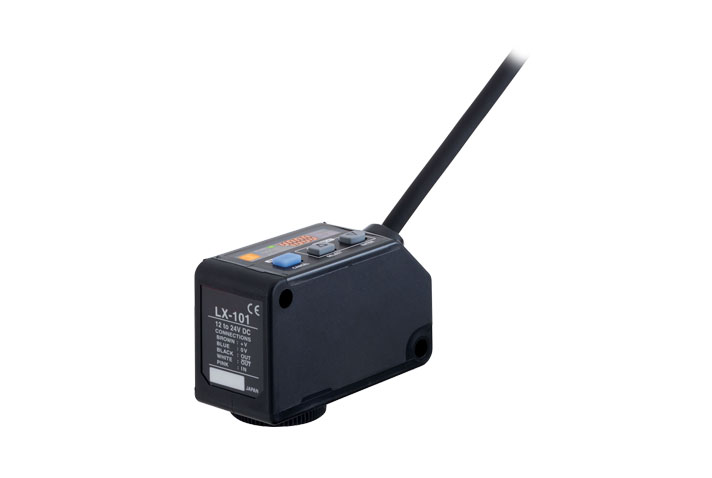 LX-101  数字式色标传感器[放大器内置]